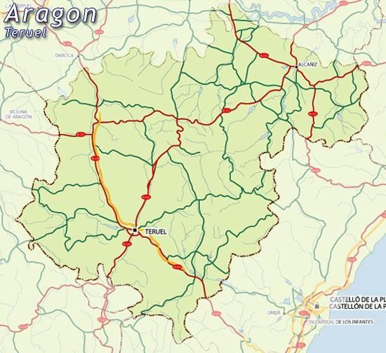 Teruel Spain Map.Map Of Teruel Map For Planning Your Holiday In Teruel Teruel Spain